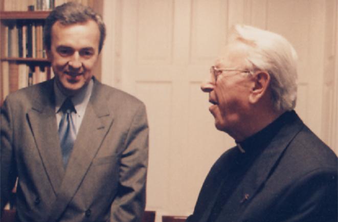 Prof. Gúth s Kardinálom Korcom