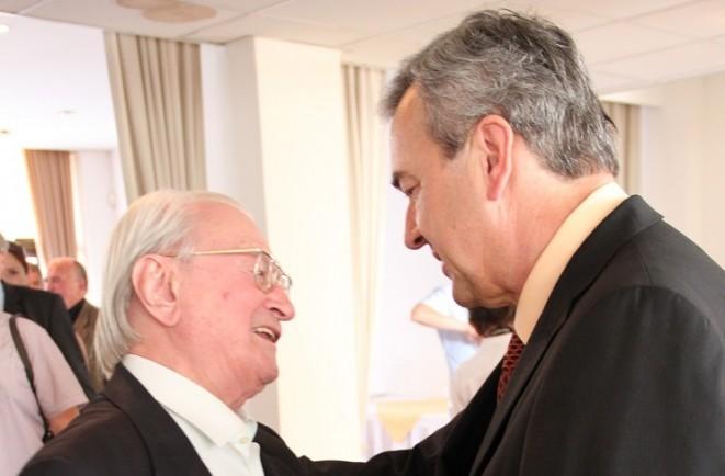 Prof. Gúth s prof. Ďuricom