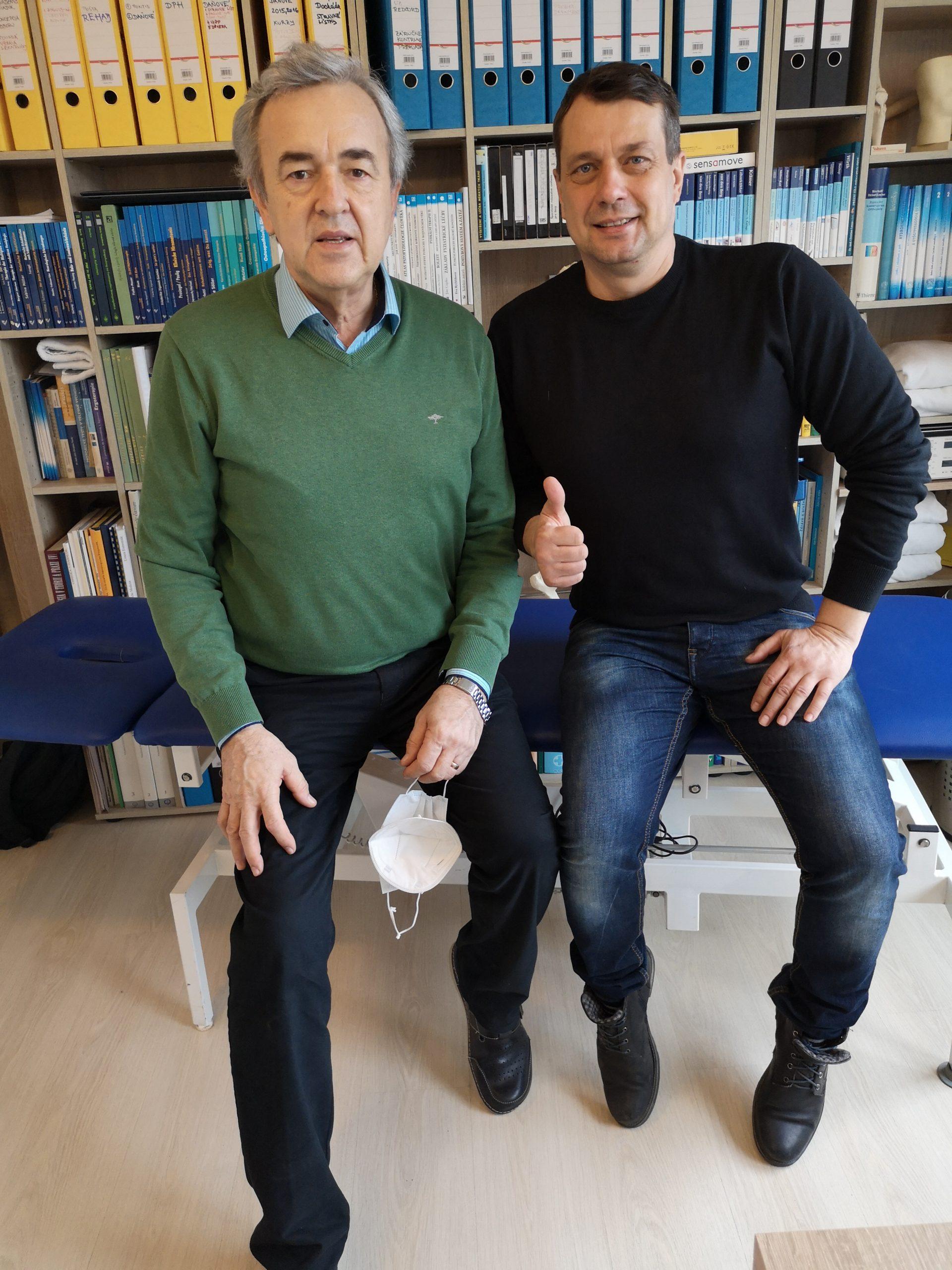 Prof. Gúth a Vilko Stankay