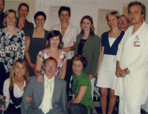 2010 prof. Gúth so svojimi žiakmi
